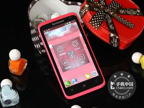粉红外观 联想S720女性手机仅售830元
