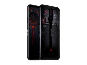 努比亚红魔5G电竞游戏手机(12+256GB)氘锋透明版